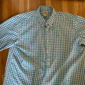 LL Bean Men's Camp Shirt Size XXL